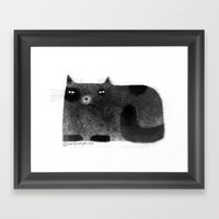 BURRITO Framed Art Print