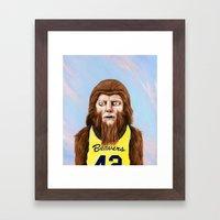 Teenwolf Framed Art Print