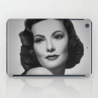 Black Velvet iPad Case