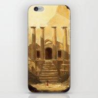Ancient Ruins iPhone & iPod Skin
