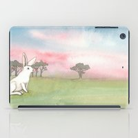 Good Morning Bunny iPad Case