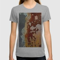 Centaur Womens Fitted Tee Athletic Grey SMALL
