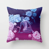 Resting space Throw Pillow
