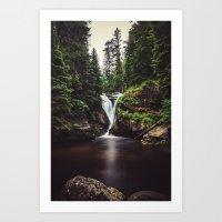 Pure Water Art Print