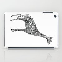 Designer Giraffe iPad Case