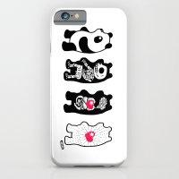 Panda Anatomy iPhone 6 Slim Case