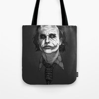 Now I'm Always Smiling // The Dark Knight Tote Bag