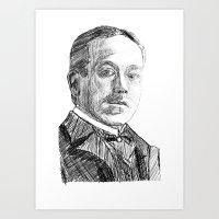 Hjalmar Söderberg Art Print