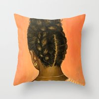 Roberta Throw Pillow
