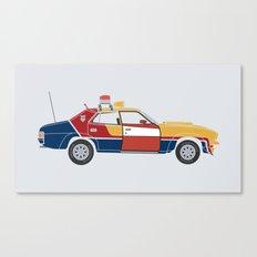 Mad Max RockaStarsky Canvas Print