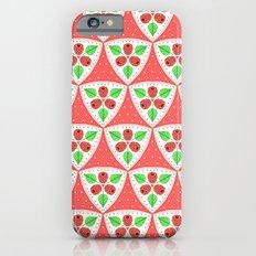 Raspberries And Polka Do… iPhone 6 Slim Case