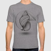 Mathematical Nurture Mens Fitted Tee Athletic Grey SMALL