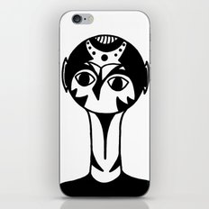 Abstract Face iPhone & iPod Skin
