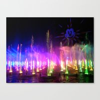 World Of Color 1 Canvas Print