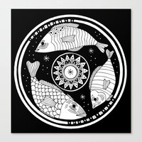 Magic Fish I Canvas Print
