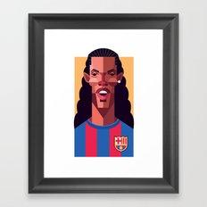 R10   Blaugrana Framed Art Print