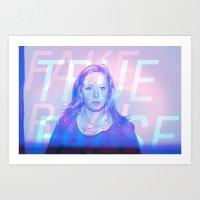 True False / Fake Real Art Print
