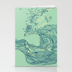 Ocean Breath Stationery Cards