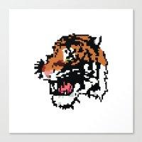Low Resolution Canvas Print