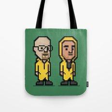 8-Bit: Breaking Bad Tote Bag