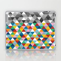 Triangles with Topper Laptop & iPad Skin