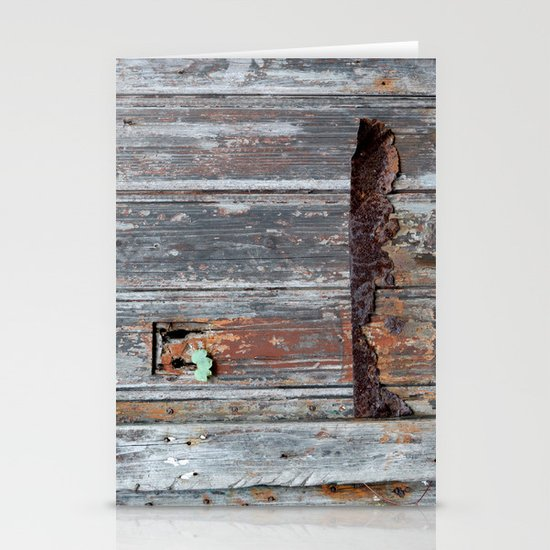 Another rusty Stationery Card