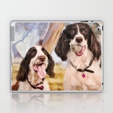 Springer Spaniels Laptop & iPad Skin
