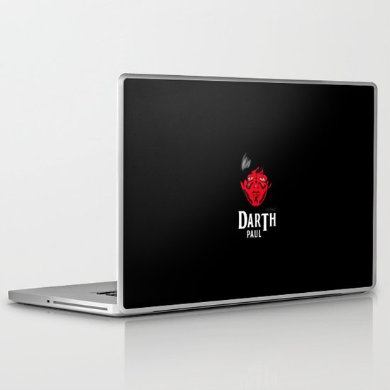 coupling up (accouplés) Darth Paul Laptop & iPad Skin