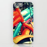 iPhone & iPod Case featuring Bikes On The Beach by Ginger Mandy