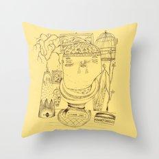Signor James' Mistery Throw Pillow