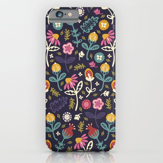 Ditsy Flowers iPhone & iPod Case