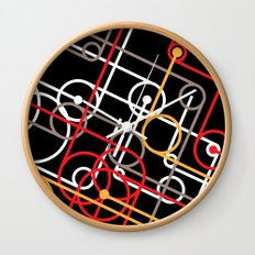 Unidentified Energy Wall Clock