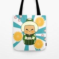 Kokeshi Hisui Tote Bag