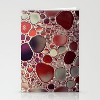 Bubble Abstract Stationery Cards