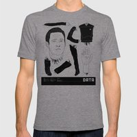 Decommissioned: Data Mens Fitted Tee Tri-Grey SMALL