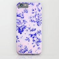 Blue Earthenware Vintage… iPhone 6 Slim Case