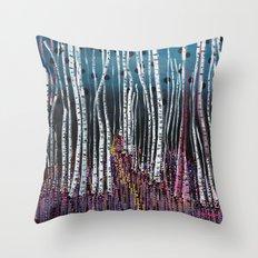 :: Pink Moss :: Throw Pillow