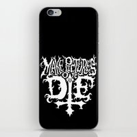 Make Pictures Or Die iPhone & iPod Skin