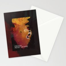 INDIANA - Heart On Fire Stationery Cards