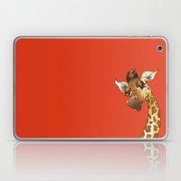 Red Giraffe! Laptop & iPad Skin