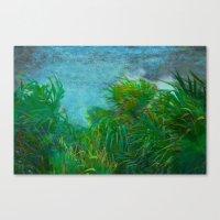 Tropical Windstorm Canvas Print
