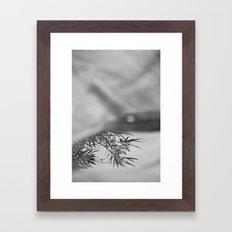 Less and less Framed Art Print