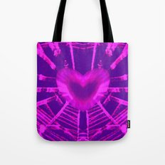 WEB OF LOVE Tote Bag