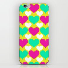 Happy hearts iPhone & iPod Skin