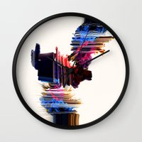 psychedelic Love Wall Clock