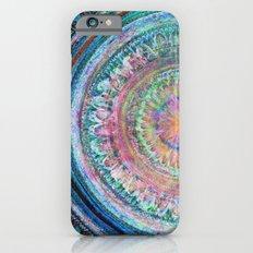Pink and Turquoise Mandala Slim Case iPhone 6s