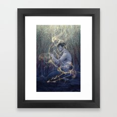 Worlds Framed Art Print
