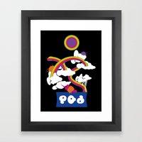 Splatoon - Splatfest ~ P… Framed Art Print