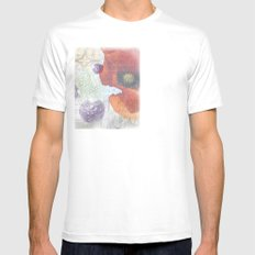 Memories of Italia (cropped) Mens Fitted Tee SMALL White