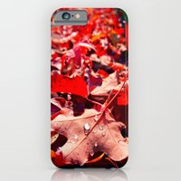 iPhone & iPod Case featuring Autumn leaves by Vorona Photography